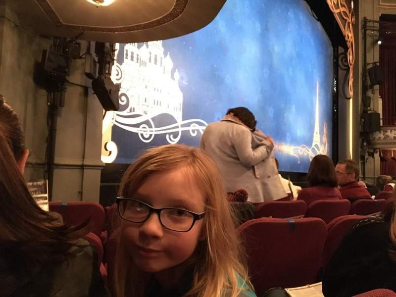 Seating view for Broadhurst Theatre Section Orchestra L Row E Seat 19