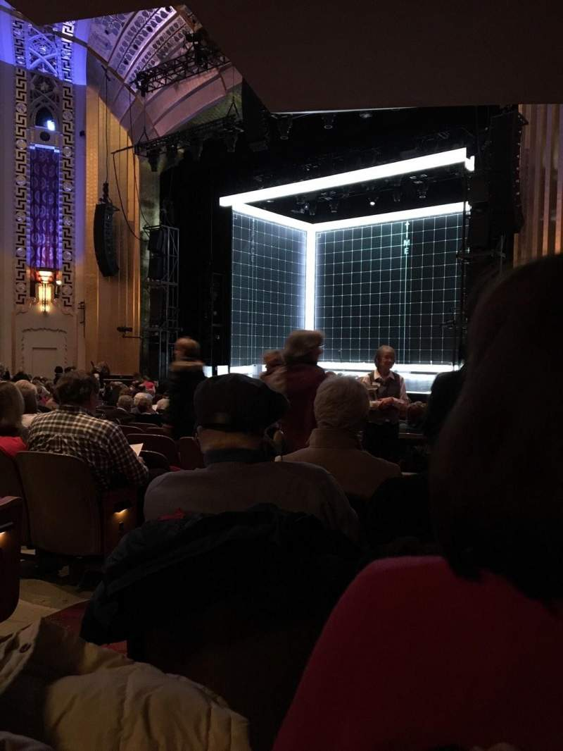 Seating view for The Bushnell Center for the Performing Arts - Mortensen Hall Section Orchestra F Row T Seat 4