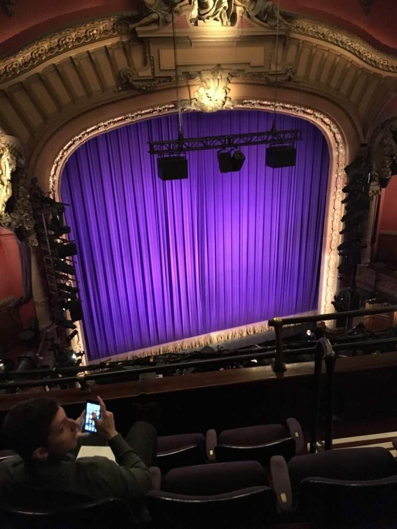 Seating view for Lyceum Theatre (Broadway) Section Balcony L Row D Seat 5