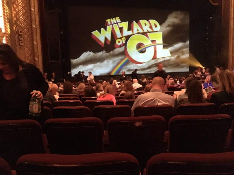 Seating view for Wang Theatre Section Orchestra LC Row O Seat 17