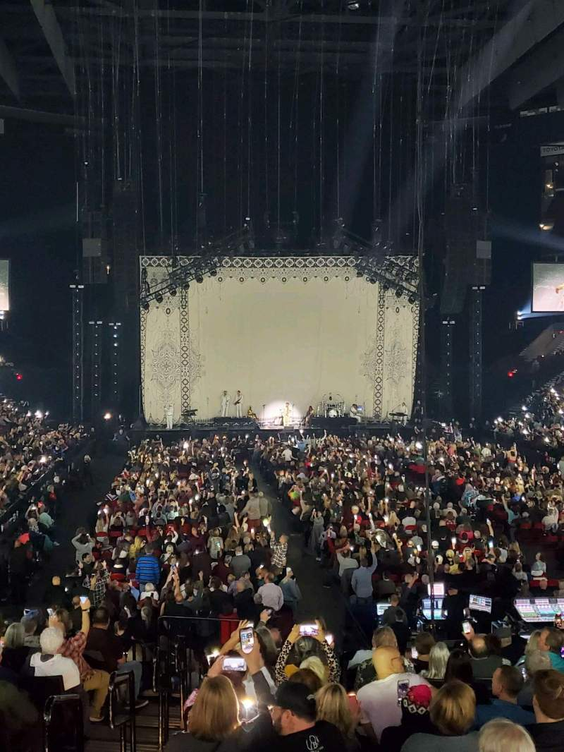 Seating view for Moda Center Section 118 Row N Seat 10