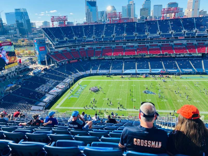 Seating view for Nissan Stadium Section 313 Row FF Seat 3