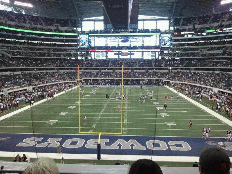 Seating view for AT&T Stadium Section 248 Row 3 Seat 12