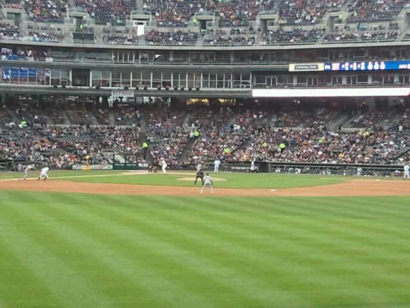 Seating view for Comerica Park Section 101 Row G Seat 22