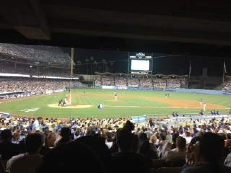 Dodger Stadium Section 10fd Row X Seat 6 Los Angeles