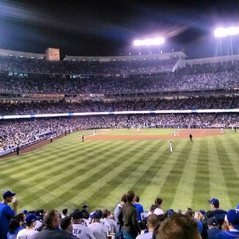 Seating view for Dodger Stadium Section 304PL Row C Seat 2