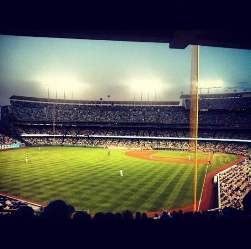 Seating view for Dodger Stadium Section 167LG Row J Seat 5