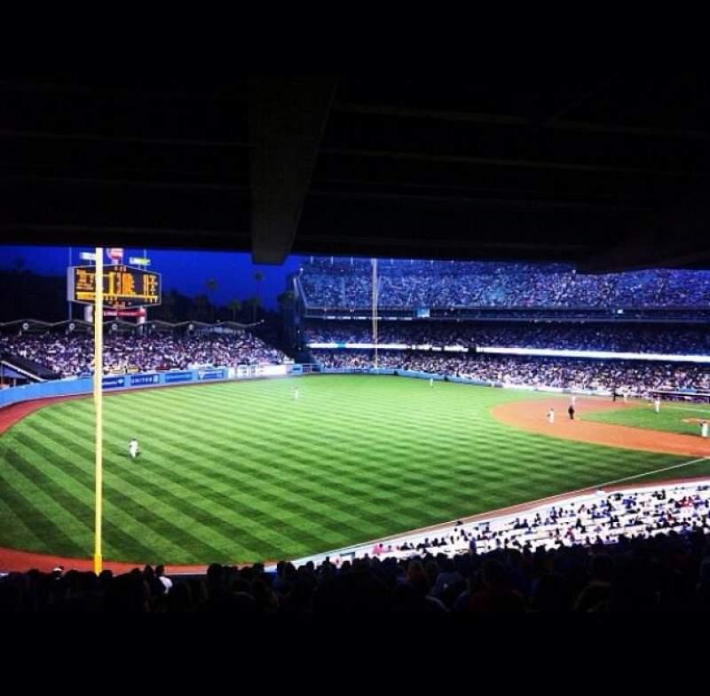 Dodger Stadium, section: 157LG, row: R, seat: 4