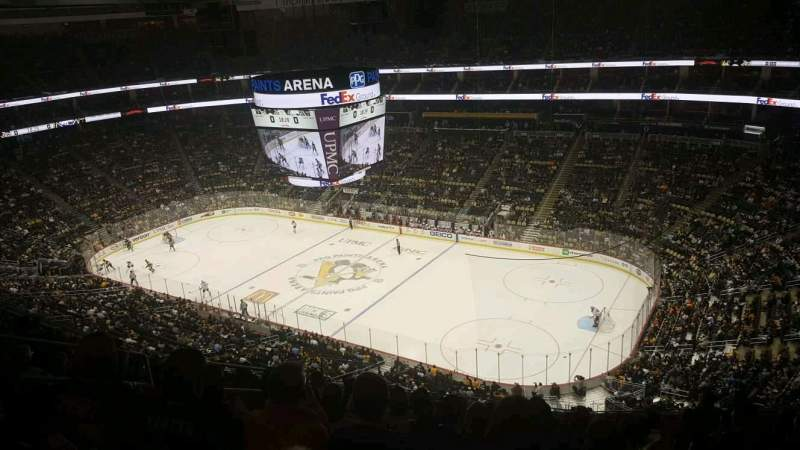 Seating view for PPG Paints Arena Section 216 Row M Seat 13