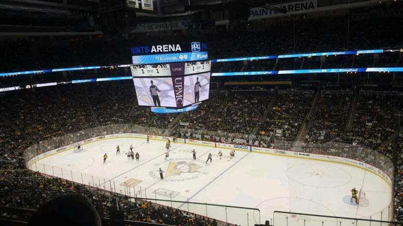 Seating view for PPG Paints Arena Section 217 Row B Seat 2