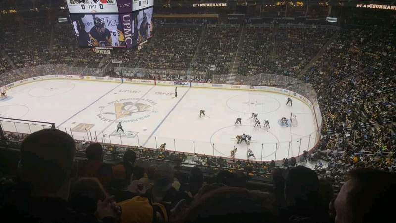 PPG Paints Arena, section: 217, row: E, seat: 14