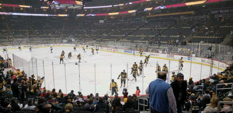 Seating view for PPG Paints Arena Section 120 Row P Seat 3