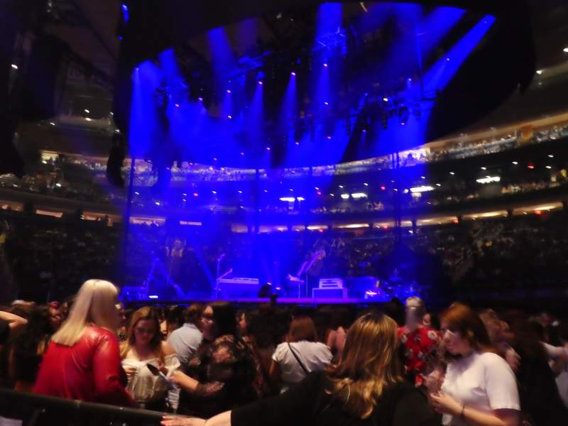 Seating view for Madison Square Garden Section Floor C Row 2 Seat 3
