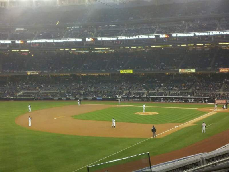 Seating view for Yankee Stadium Section 230 Row 5 Seat 7