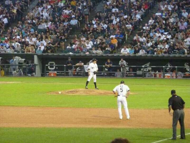 Seating view for Guaranteed Rate Field Section 147 Row 14 Seat 8