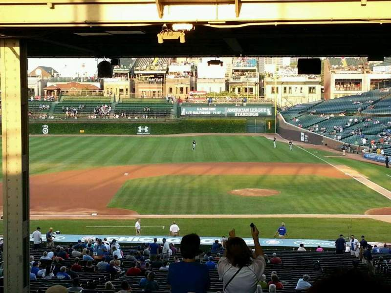 Seating view for Wrigley Field Section 216 Row 21 Seat 103