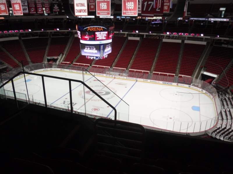 Seating view for PNC Arena Section 302 Row E Seat 11