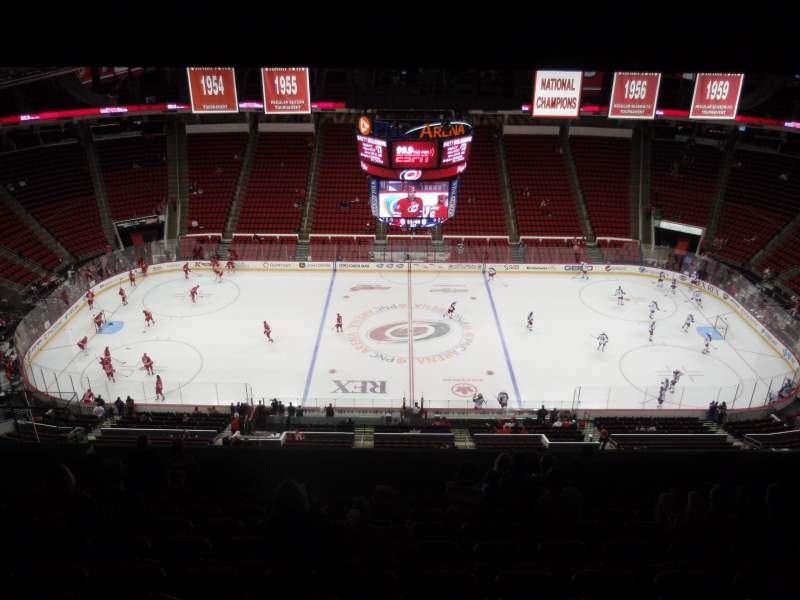Seating view for PNC Arena Section 304 Row M Seat 14