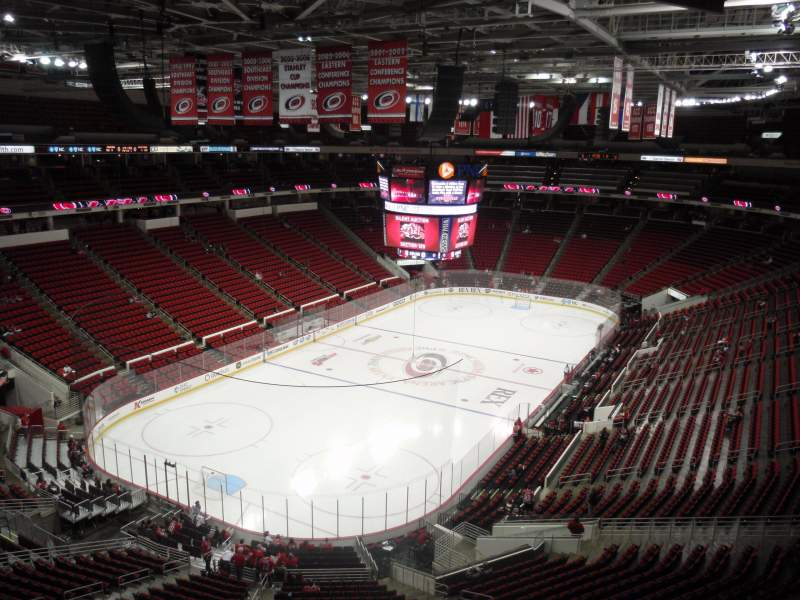 Seating view for PNC Arena Section 310 Row A Seat 20