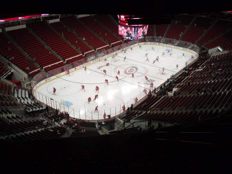 Seating view for PNC Arena Section 310 Row N Seat 7