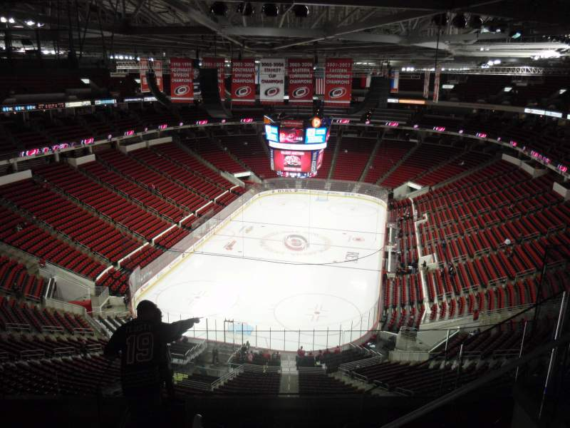 Seating view for PNC Arena Section 313 Row G Seat 5