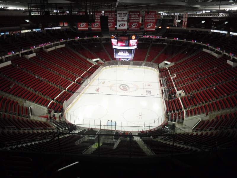 Seating view for PNC Arena Section 313 Row G Seat 17
