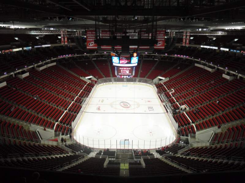 Seating view for PNC Arena Section 314 Row H Seat 12