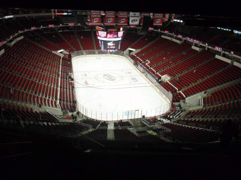 Seating view for PNC Arena Section 315 Row L Seat 14