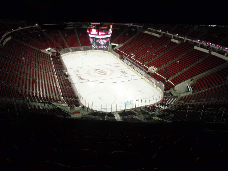 Seating view for PNC Arena Section 316 Row N Seat 7