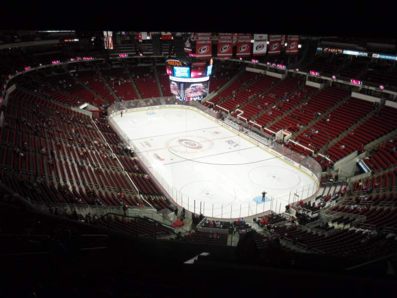 Seating view for PNC Arena Section 317 Row L Seat 9