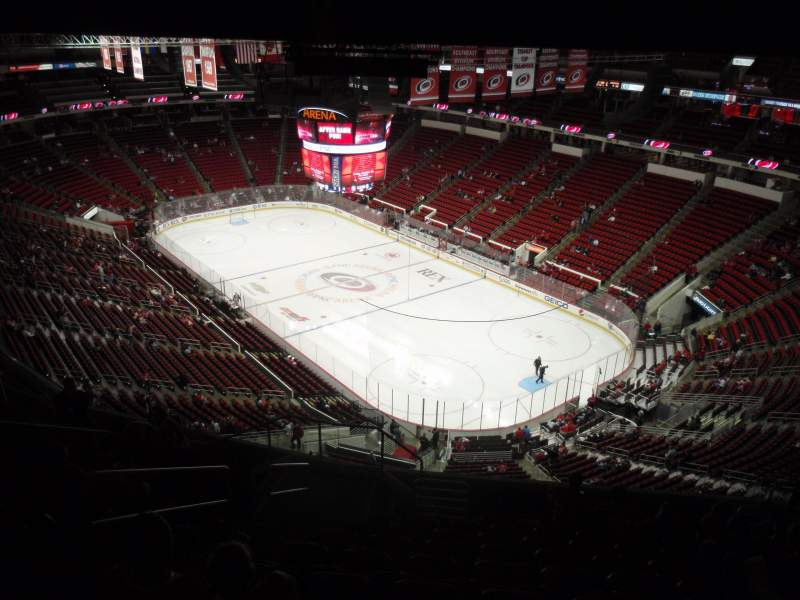 Seating view for PNC Arena Section 318 Row L Seat 12