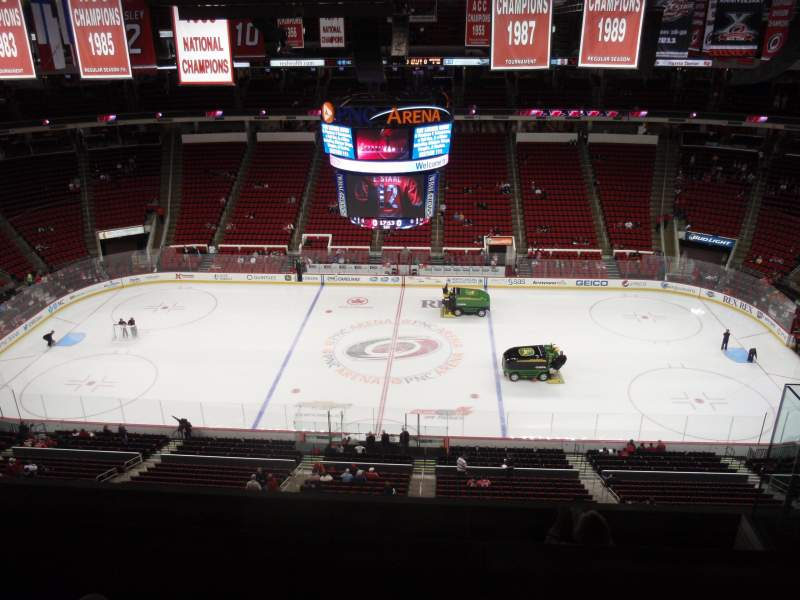 Seating view for PNC Arena Section 324 Row F Seat 5