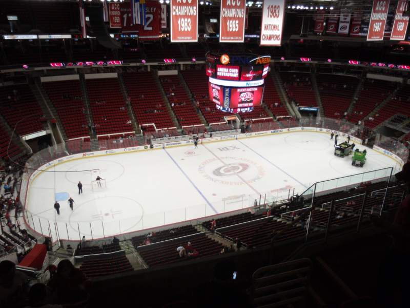 Seating view for PNC Arena Section 326 Row F Seat 6