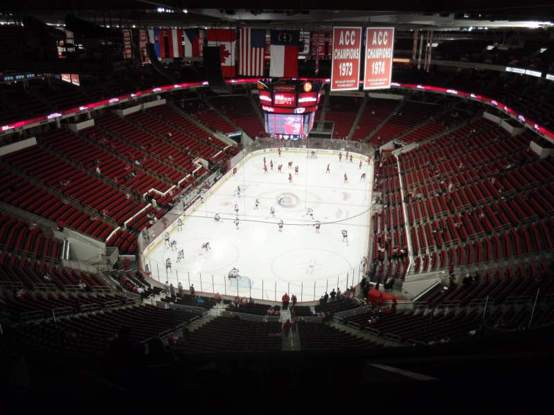 Seating view for PNC Arena Section 332 Row J Seat 24
