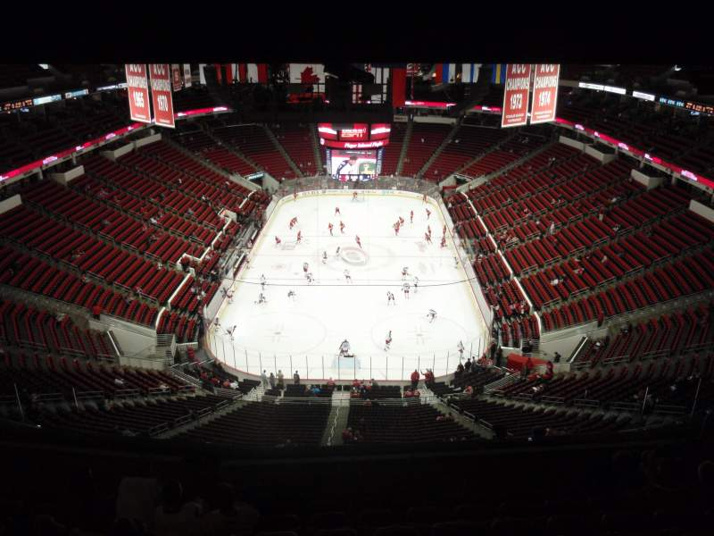 Seating view for PNC Arena Section 333 Row L Seat 13