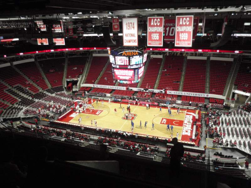 Seating view for PNC Arena Section 303 Row J Seat 7