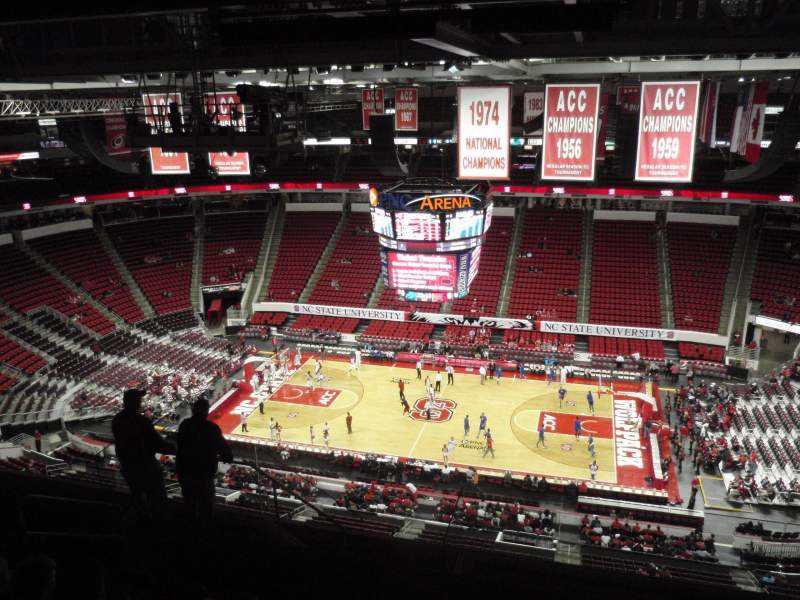 Seating view for PNC Arena Section 303 Row J Seat 18