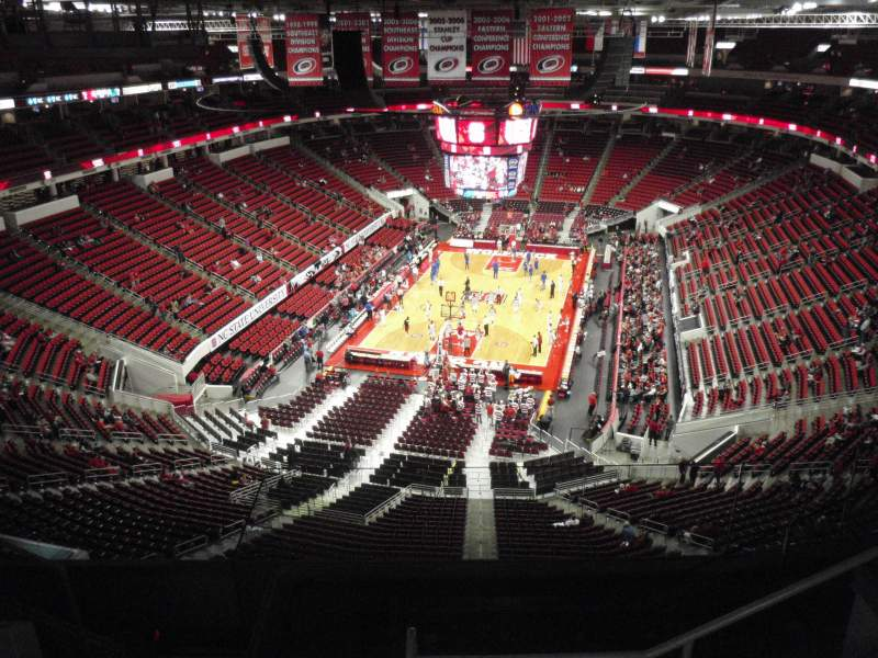 Seating view for PNC Arena Section 313 Row G Seat 6
