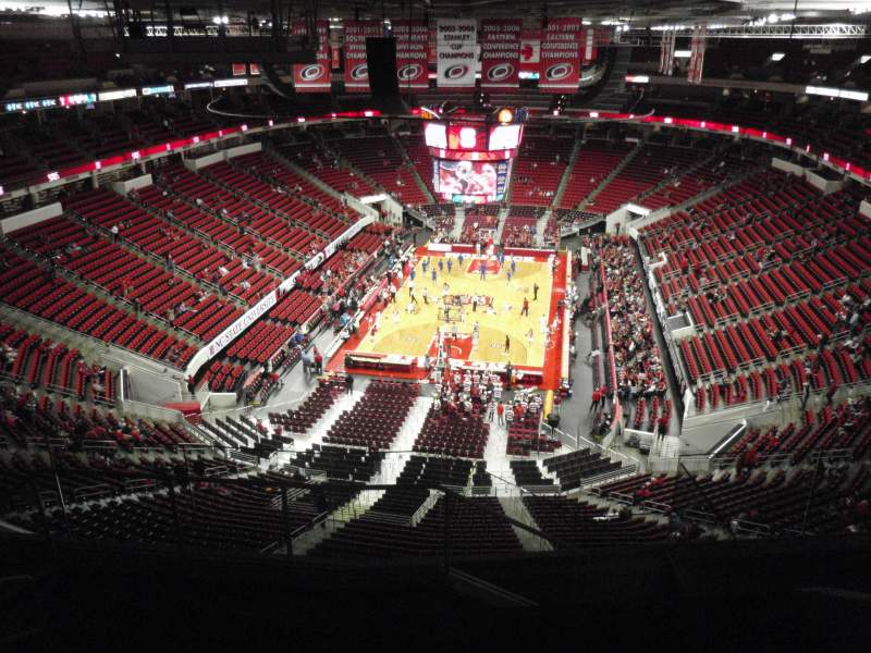 Seating view for PNC Arena Section 313 Row G Seat 14