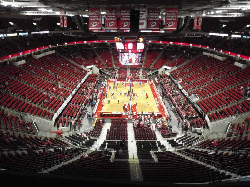 Seating view for PNC Arena Section 314 Row D Seat 14