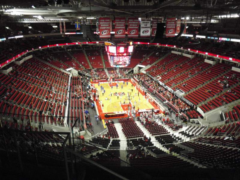 Seating view for PNC Arena Section 315 Row G Seat 15
