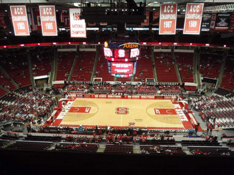 Seating view for PNC Arena Section 324 Row G Seat 11