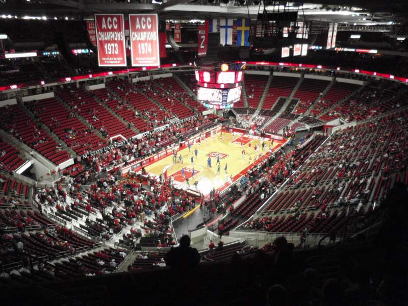 Seating view for PNC Arena Section 330 Row H Seat 10