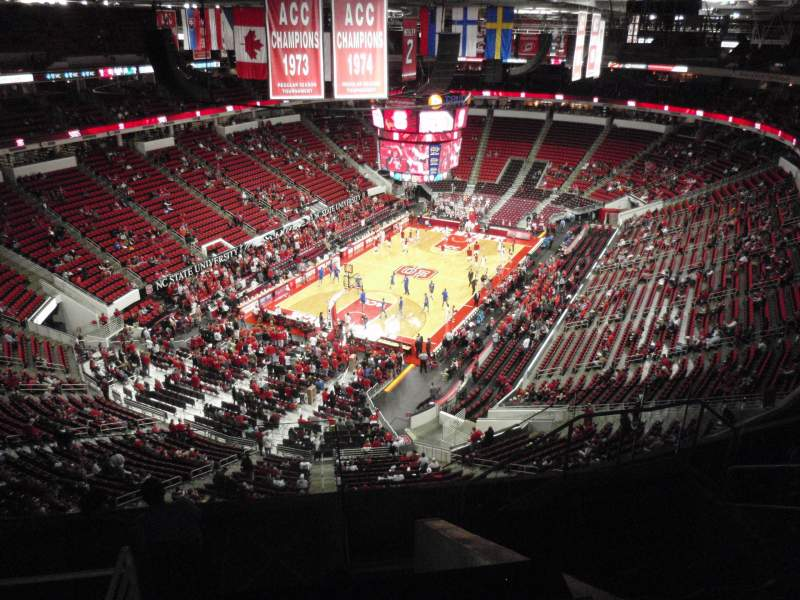 Seating view for PNC Arena Section 331 Row H Seat 7