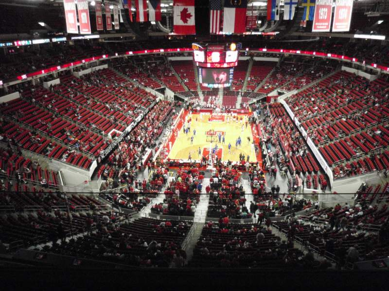 Seating view for PNC Arena Section 333 Row D Seat 8