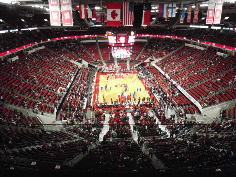 Seating view for PNC Arena Section 333 Row D Seat 24