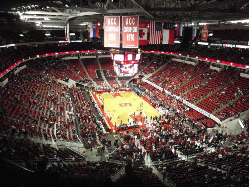 Seating view for PNC Arena Section 334 Row F Seat 24