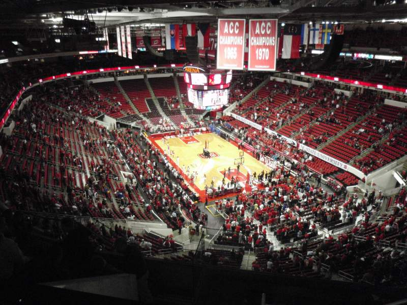 Seating view for PNC Arena Section 335 Row H Seat 6