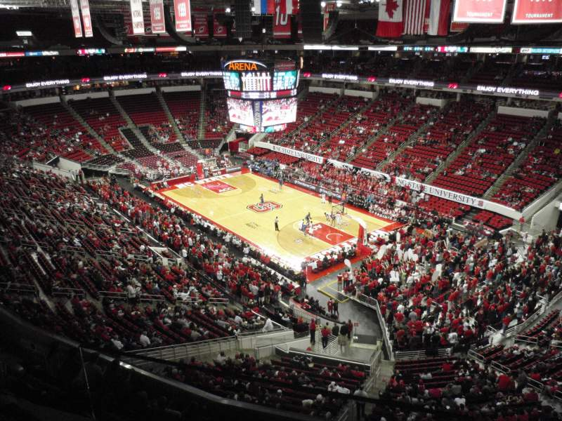 Seating view for PNC Arena Section 337 Row A Seat 1