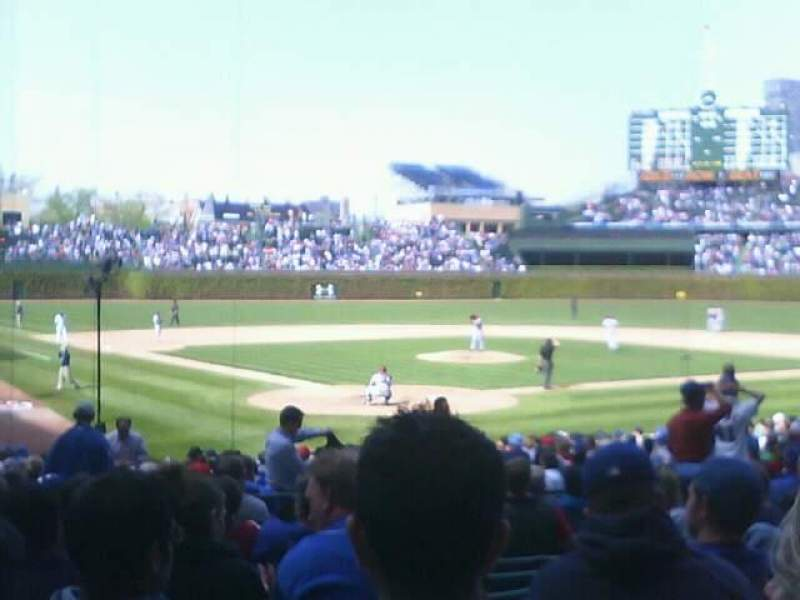 Seating view for Wrigley Field Section 18 Row 12 Seat 20